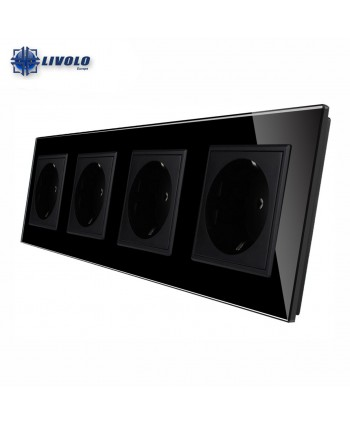 Livolo Wall Power Quadruple Sockets