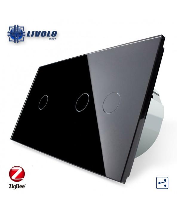 Livolo Double 1-2 Gang - 2 ways - ZigBee