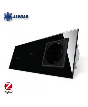 Livolo 1-1 Gang + Sockets - ZigBee