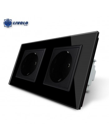 Livolo Wall Power Double Socket