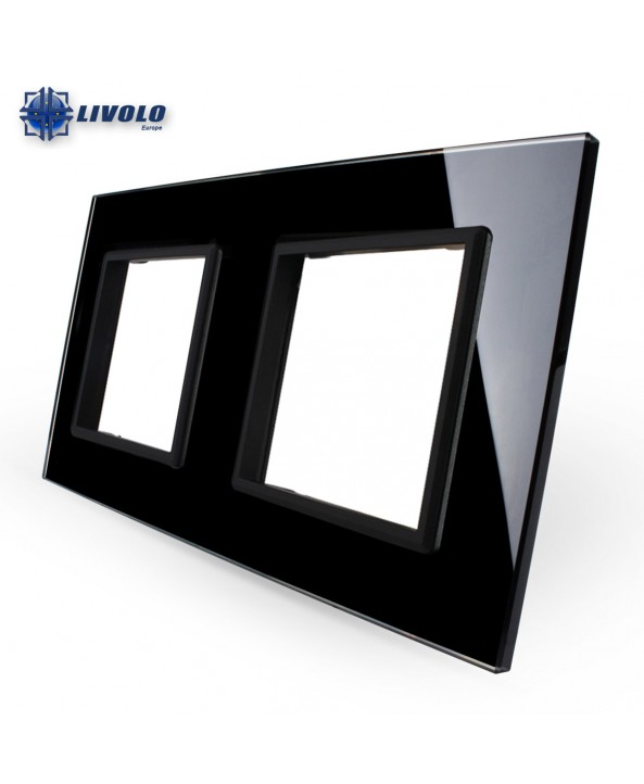Livolo Double Crystal Panel