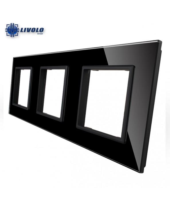 Livolo Triple Crystal Panel