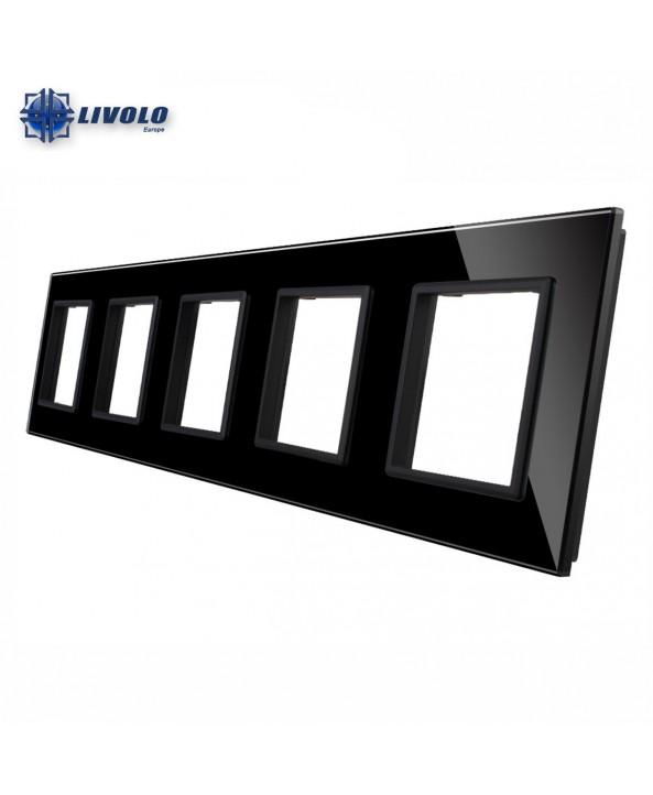 Livolo Quintuple Crystal Panel