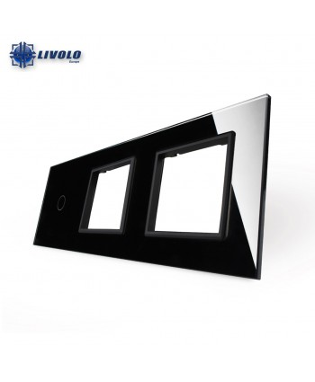 Livolo Triple Crystal Panel 1-S-S