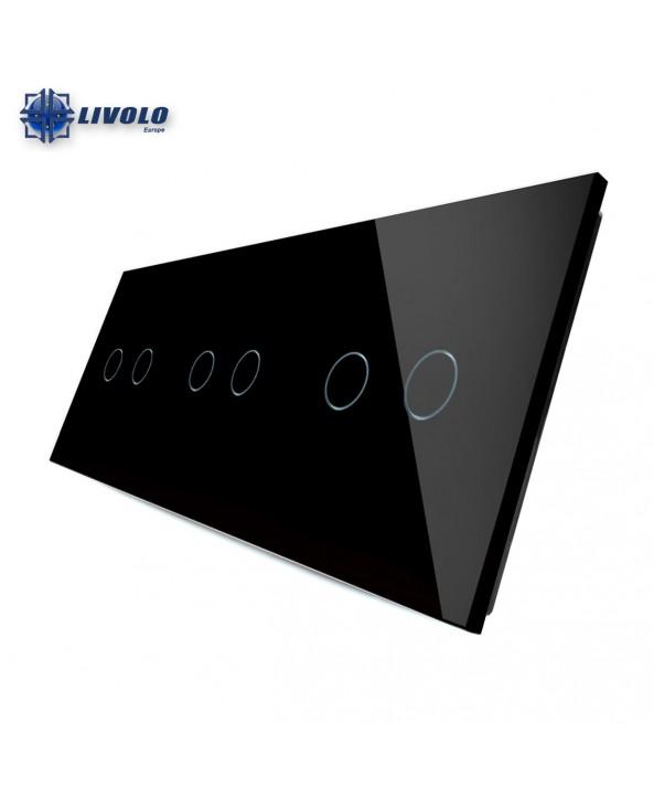 Livolo Triple Crystal Panel 2-2-2