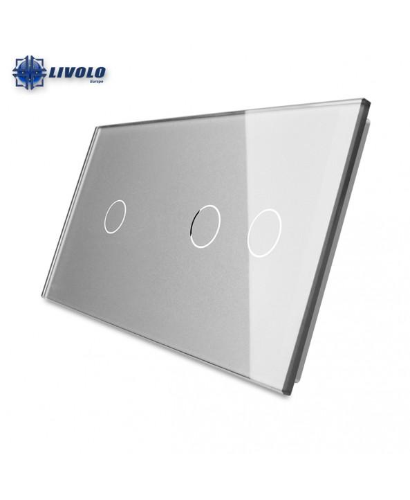 Livolo Double Crystal Panel 1-2