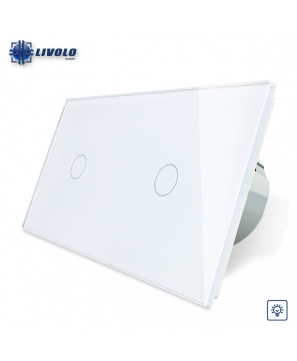 Double Livolo Dimmer Switch