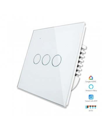 3 Gang - 1/2 Way | Wifi Smart Switch